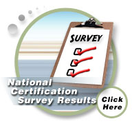 National Certification Survey Results